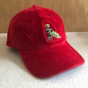 Polo Ralph Lauren Bear Corduroy Baseball Youth Hat